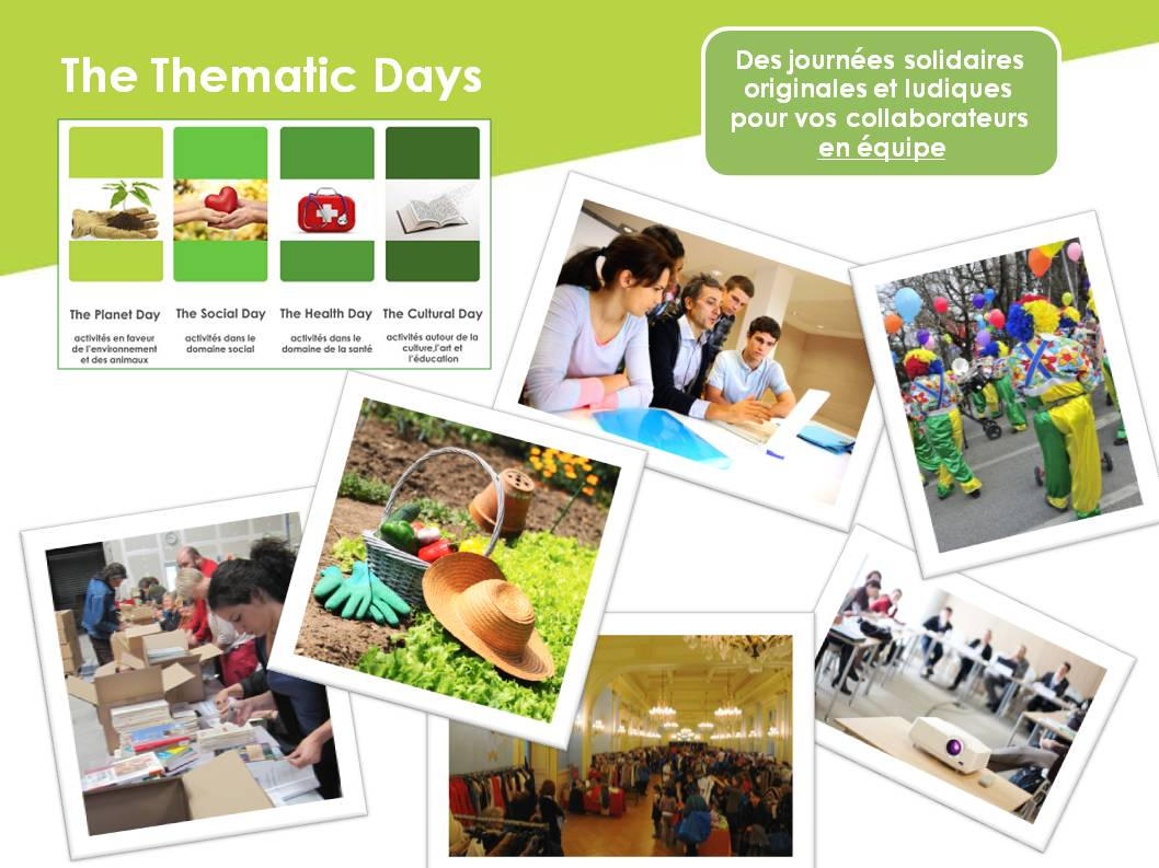 Thematic Day montage
